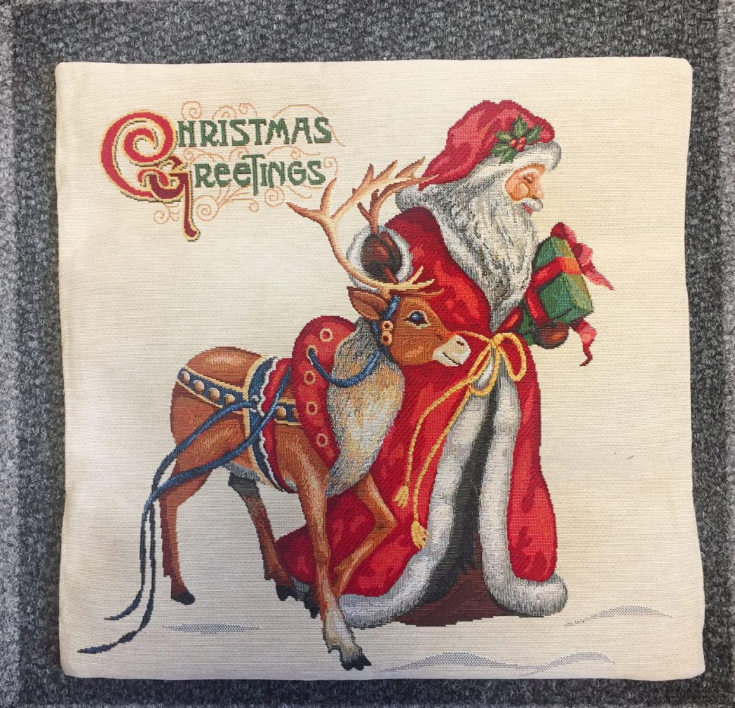 Kussenhoes Kerst Rudolph